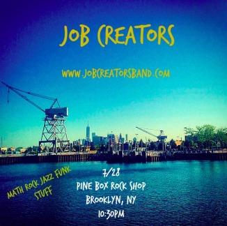 Job Creators Band Brooklyn